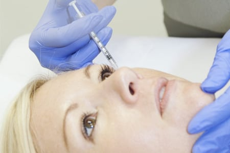 anti wrinkle injections depression