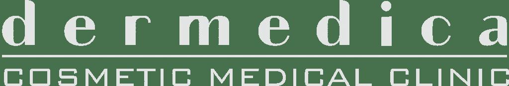 Dermedica White Logo