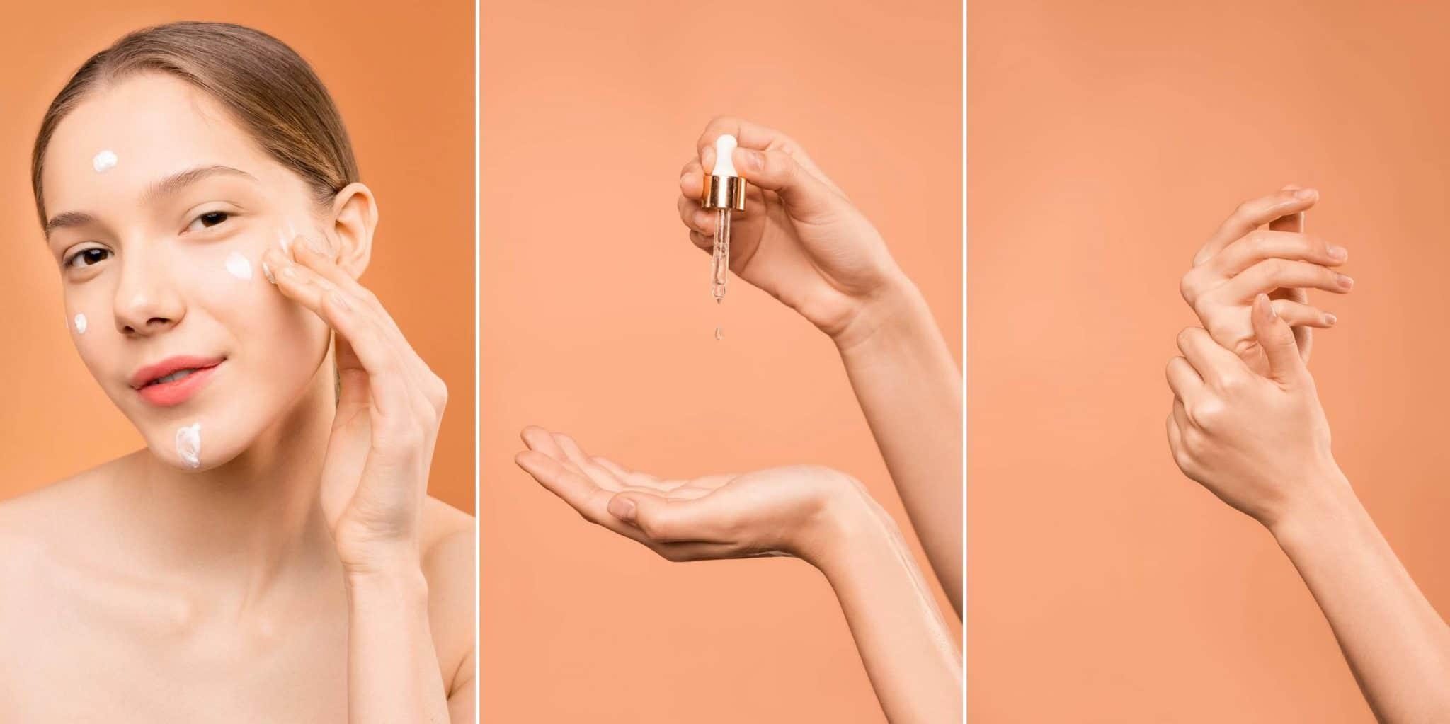 Woman essential oil