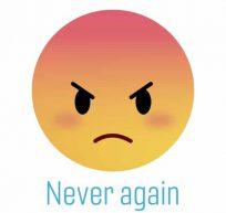 Never again emoji