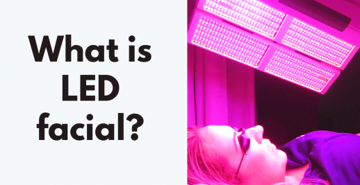 what is LED facial